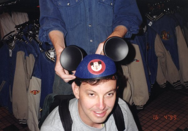 america - dave in mickey mouse ears looking stoned