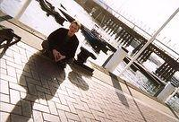 Day 03 - 11 - Darling Harbour Boardwalk - Andy and pier